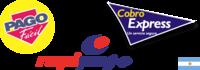 Pago Fácil, RapiPago, Cobro Express